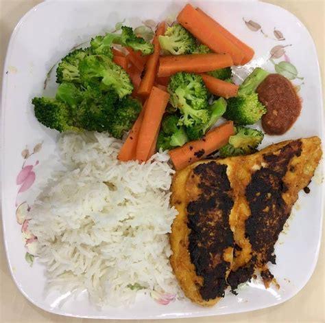 makanan diet  menu  diet eat clean  patut