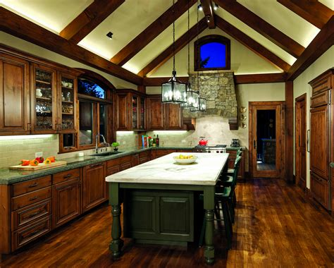 a frame kitchen ideas timber home kitchen island design ideas