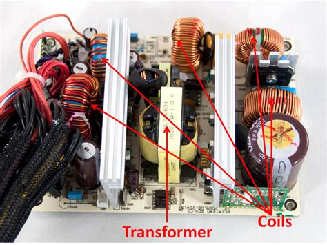 transformer and inductor a detailed look into psus techpowerup