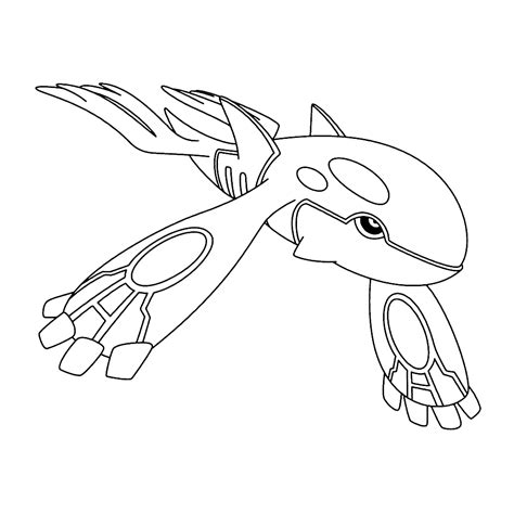 pokemon coloring pages kyogre kyogre coloring pages for kids