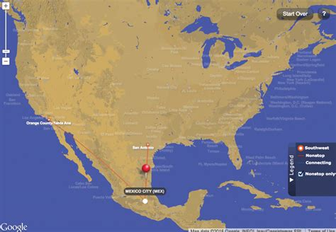 interactive travel map of the us book your next trip to mexico with southwest