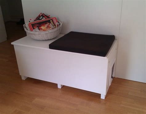 Cat Litter Box In A Living Room Why Not Ikea Hackers Litter Box Cabinet Ikea