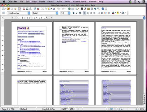 Mac Open Office openoffice 3 lansert mac1 no