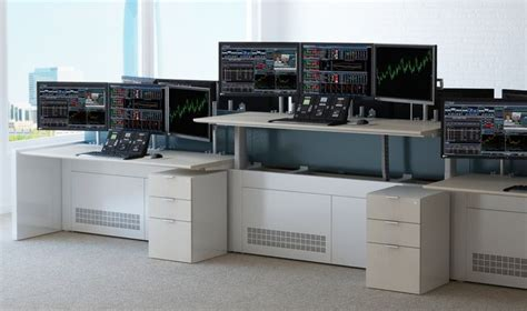 Trading Desk by 1000 Images About Trading Desks On Washington