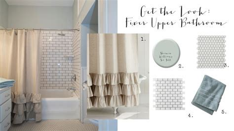 Get the Look: Fixer Upper Bathroom   House of Hargrove