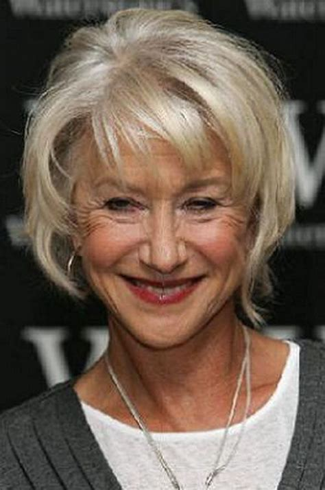 hair style for real women over 50 blonde short hairstyles for older women trend new classy