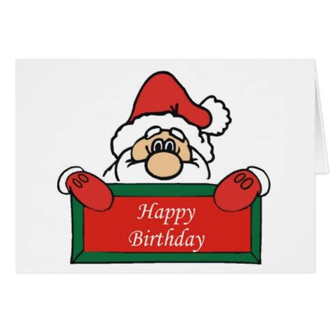 december birthday card zazzle