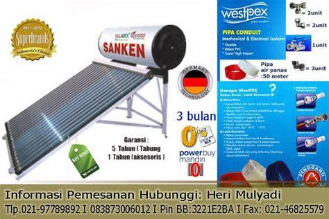 Sanken Solar Water Heater Swh F300p Murah marketing kamarmandiku pemanas air tenaga surya sanken swh solarex direct system