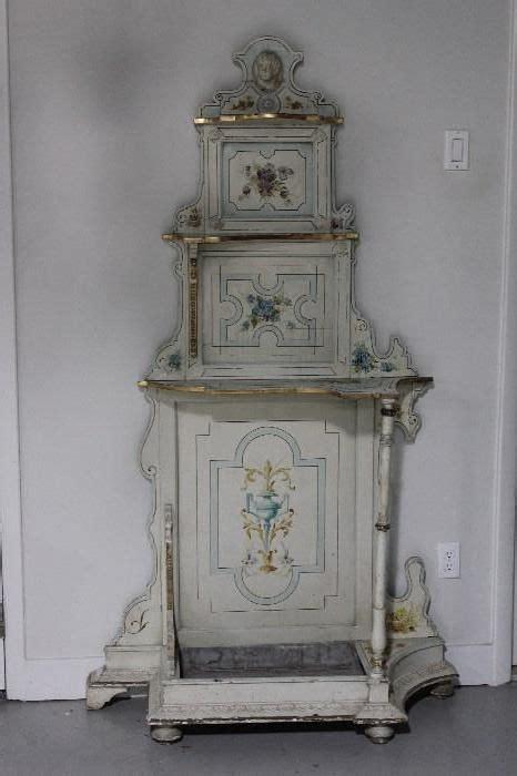 etagere shabby found on estatesales net antique painted