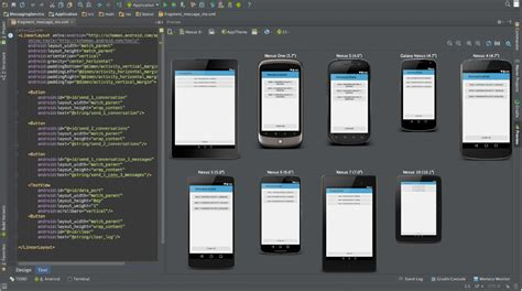 create template for android studio android studio 1 0 released by google for developers