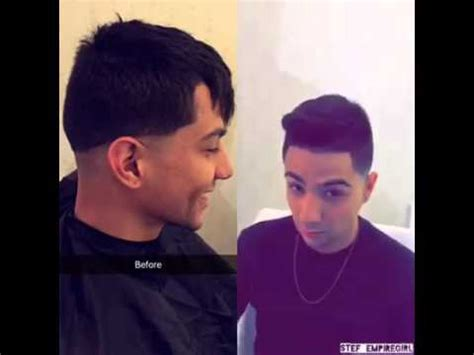 luis coronel haircut before and after youtube