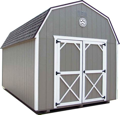 painted lofted barn lonestar sheds llc