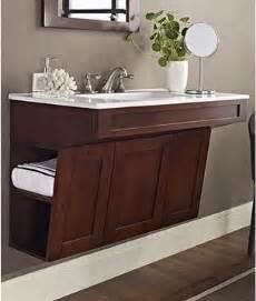 60 Ada Vanity Fairmont Designs Shaker 36 Quot Wall Mount Ada Vanity