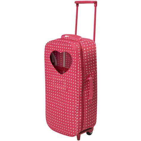 american girl doll travel bed badger basket doll travel trolley case walmart com