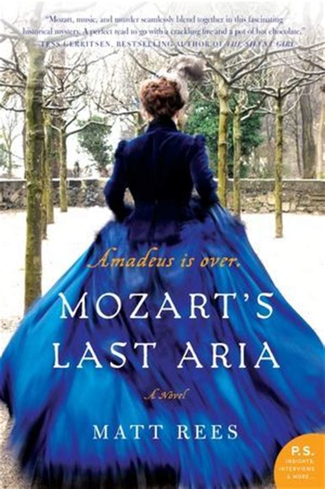 Novel Mozart S Last alison can read read outside the box best historical fiction