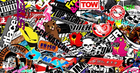 jdm sticker wallpaper image gallery jdm sticker bomb