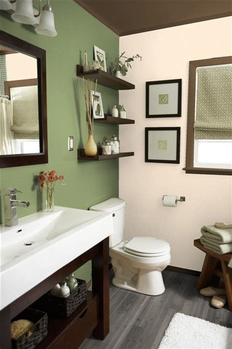 brown and green bathroom 25 best ideas about green bathroom colors on pinterest