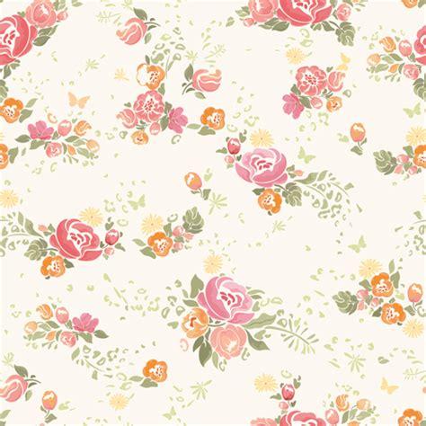 pattern flower download pink flower vector seamless pattern 01 vector flower