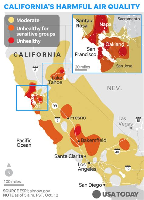 In Law Homes by California Fire Map How The Deadly Wildfires Are Spreading