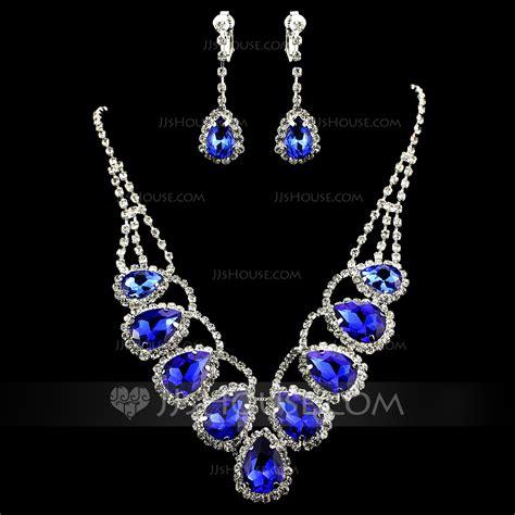 Gorgeous Jewelry by Gorgeous Alloy Rhinestones Jewelry Sets 011012945