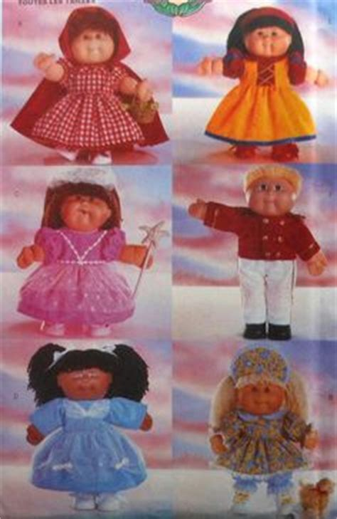 free knitted cabbage patch doll clothes patterns cabbage patch doll clothes sewing pattern on esty by