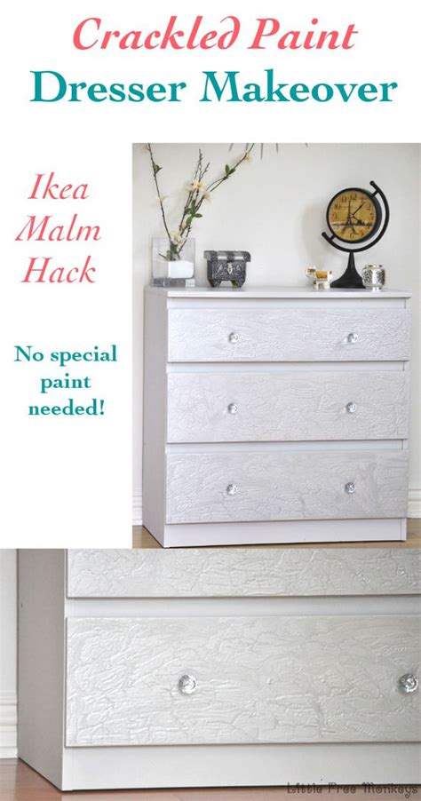 ikea hack little lessy ikea malm malm and dresser makeovers on pinterest
