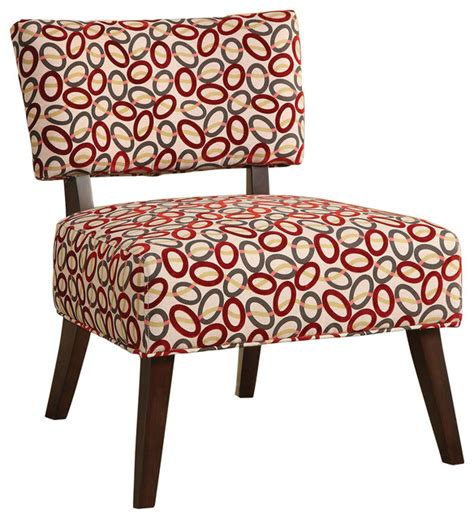 Patterned Accent Chair And Gray Ovals Patterned Accent Chair Contemporary Armchairs And Accent Chairs By Ctc