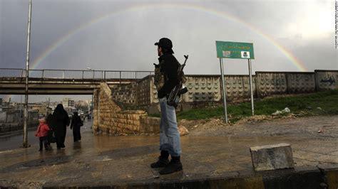 Syria Rainbow syrian civil war in photos