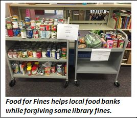 Lake Food Pantry by Owe The Library Some Money Bring Them Canned Food
