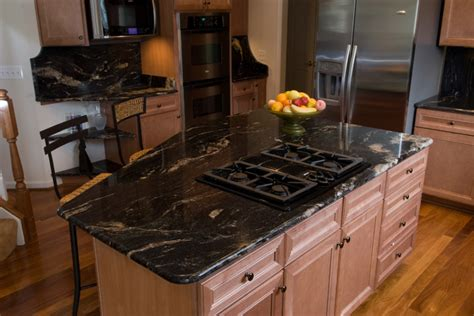 Kitchen Backsplash Ideas With Black Granite Countertops Cosmic Black Granite Traditional Kitchen Dc Metro