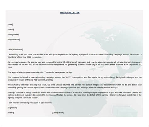32 proposal templates free ms word documents download