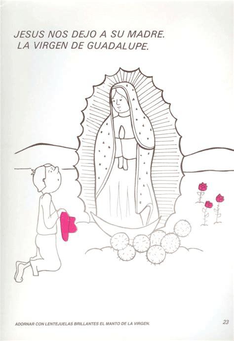 imagenes para dibujar la virgen de guadalupe dibujos de la virgen de guadalupe facil para dibujar imagui