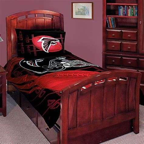 nfl atlanta falcons twin full comforter set buybuy baby