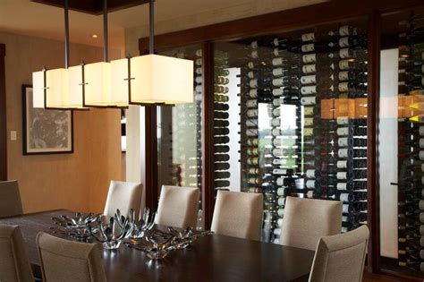 wine wall decorating dining room hualalai serenity wine wall asian dining room