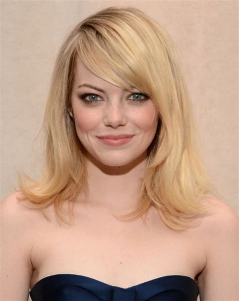 hairstyles medium length with wispy fringe and slightly curly medium length haircuts with side bangs
