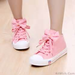 Bow Tie Flats sweet style casual bow tie flat canvas shoes flats shoes