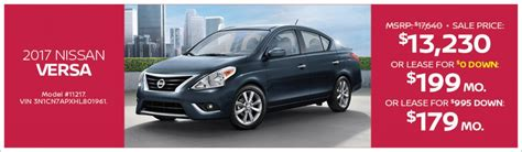 passport nissan drive away from passport nissan md in a 2017 versa with