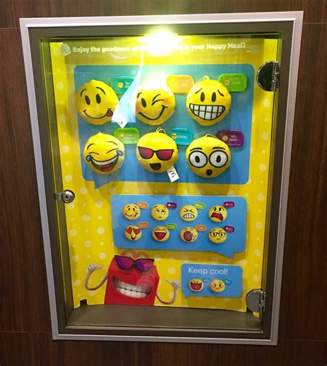 Happy Meal Emoji Slobbering Puppy Mc Donald S Mc D Mcd happy meal emoji plushies yelp
