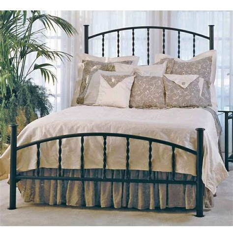 Wrought Iron Bed Frame King Wrought Iron Bed Frame King Black Coated Wrought Iron Leirvik Bed Frame Bedroom Magnificent