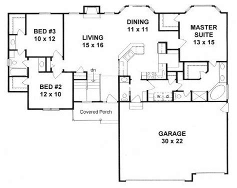 mud room floor plan plan 1539 3 bedroom ranch w mud room walk in pantry