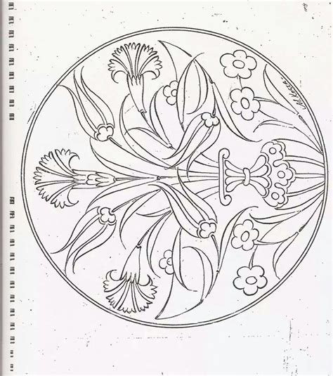 Islamic Patterns Colouring Sheets Desen Hat Rumi 139 Best Coloriage Images On Pinterest Coloring PageslL