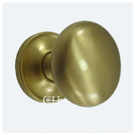Satin Brass Door Knobs by 1757cov Cushion Door Knobs Concealed Brass