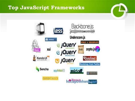 best javascript framework top java script frameworks ppt