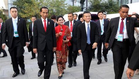 alibaba group di indonesia indonesia tak mau lagi ada defisit perdagangan dengan cina