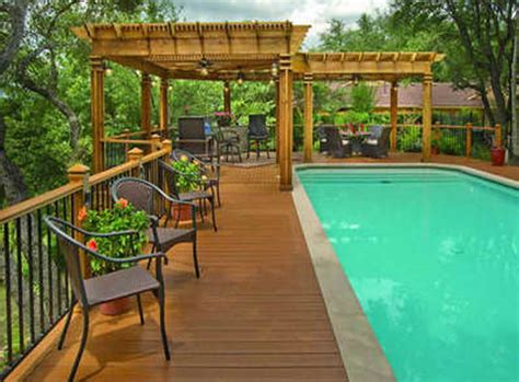 Decks Around Above Ground Pools Pictures by Above Ground Pool Deck Photos Pool Design Ideas