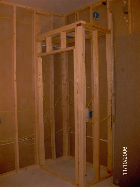 how to frame a closet door framing a new closet roselawnlutheran