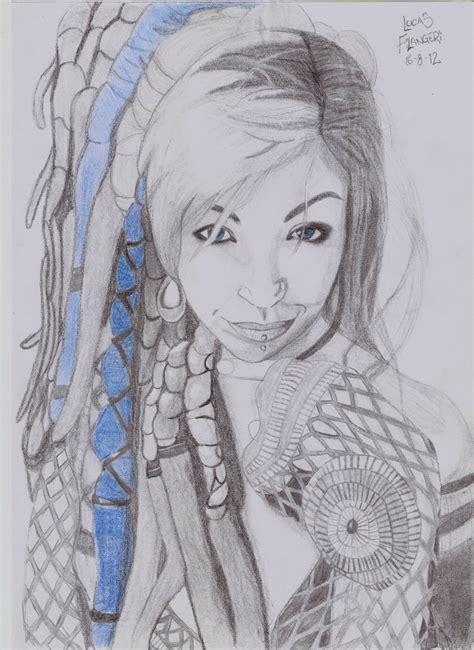 imagenes de cumpleaños rastas dibujando una chica con rastas muy linda im 225 genes