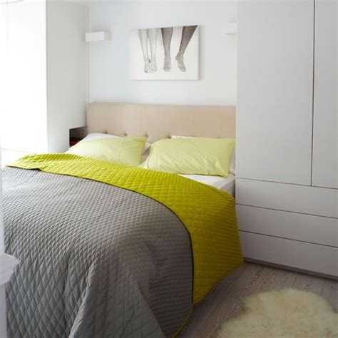 Chartreuse Bedding by Take A Tour Around A Family Friendly Mansion Flat The