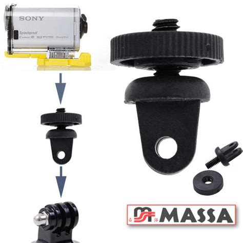 gopro cam ebay gp60 tripod mount adapter for sony action cam gopro