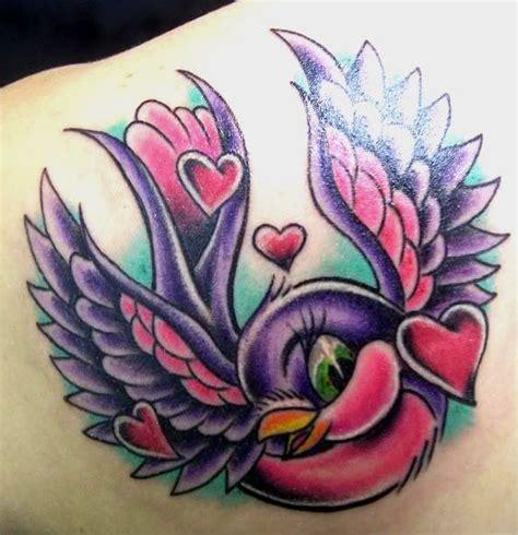 new school love tattoo new school bird tattoo tattoo ideas pinterest